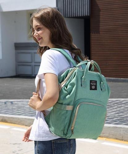Bolsa Mochila Maternidade Original Lequeen Em Promoção Pronta Entrega