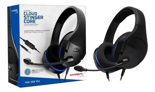 Headset Gamer Hyperx Cloud Stinger Core Ps4  Hx-hscsc-bk
