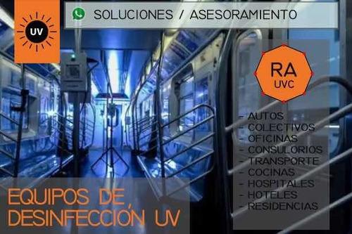 Desinfección Uv - Germicidas - Anticipo Proyectos/soluciones