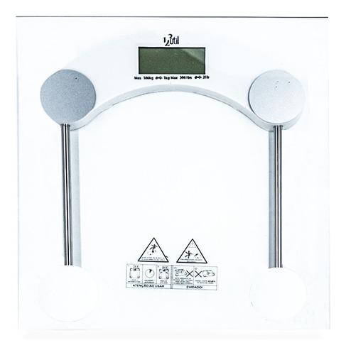 Balança Corporal Digital Banheiro 180kg Vidro