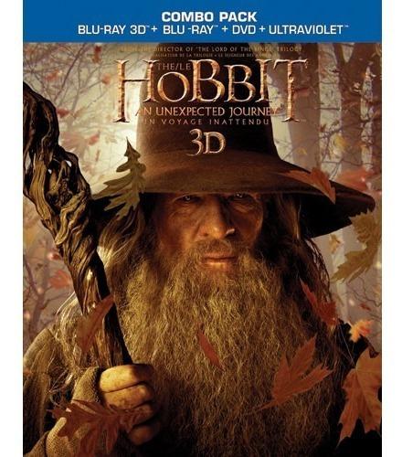 El Hobbit 3d Blu Ray