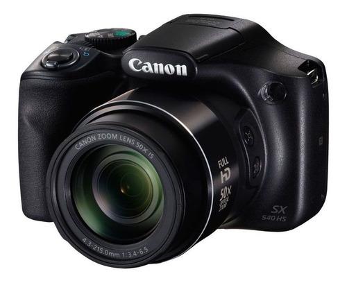 Camera Canon Powershot Sx540 Hs Preto