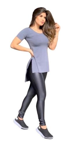 Roupa De Academia Feminino Blusa Veste Legging Do P Ao Eg