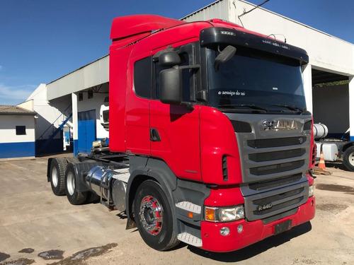 Scania R-440 Ano 2013 6x4