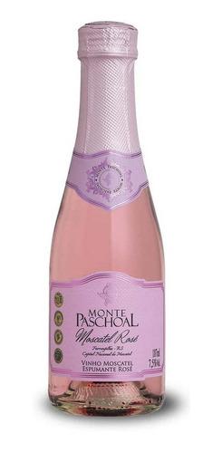 Espumante Monte Paschoal Moscatel Rosé 187ml C/24