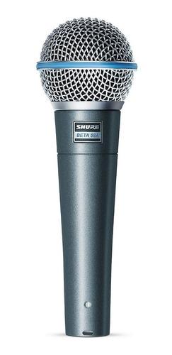 Micrófono Shure Beta Beta 58a Dinámico  Supercardioide Negro