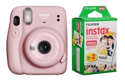 Cámara Instantanea Fujifilm Instax Mini 11 Selfie + 20 Fotos