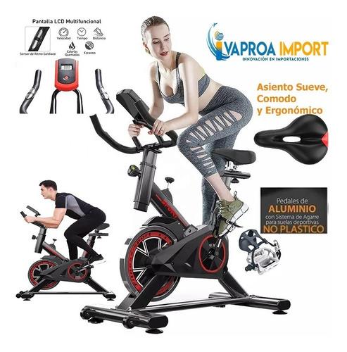 Bicicleta Estática Spinning + Monitor Fitness + Pedal Alumin