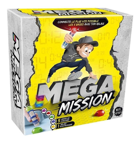 Juego Mega Mission Intenta Batir El Record Art 41306