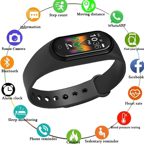 Smartband Reloj Brazalete Inteligente