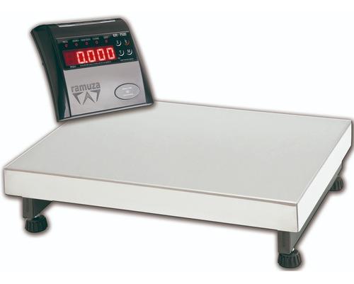 Balança Industrial Digital Ramuza Dp 300kg Plataforma 50x50