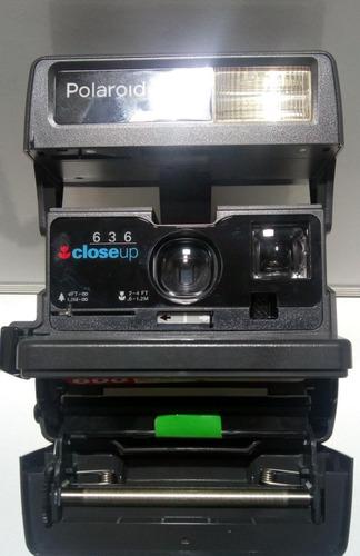 Polaroid 636 Close Up Olhe O Anuncio