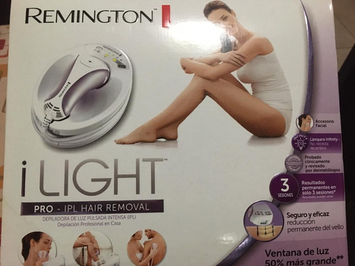 Depiladora Remington Laser