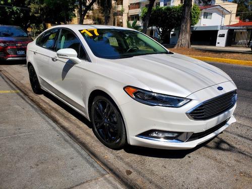 Ford Fusion Titanium Plus 2017, Factura Agencia, Impecable