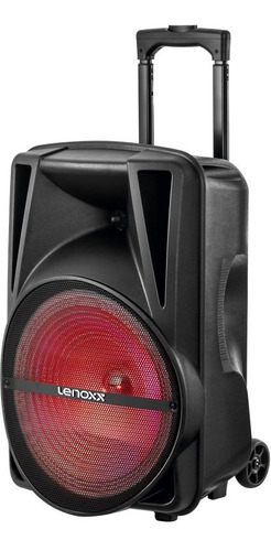 Caixa Amplificada Lenoxx Ca340 Bluethooth 300w Bat Até 2h