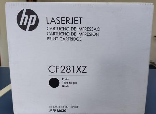 Cf281xc Toner Hp Laserjet Enterprise Mfp M630 Preto Original