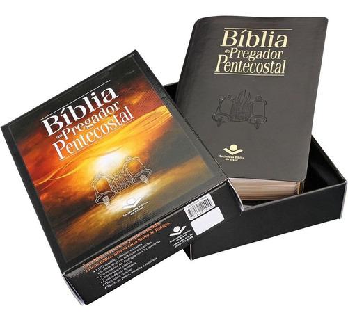 Bíblia Estudo Pregador Pentecostal Almeida Corrigida Grande