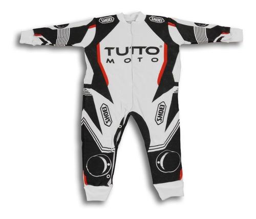 Macacão Tutto Moto Bebê - Para Mini Motociclistas