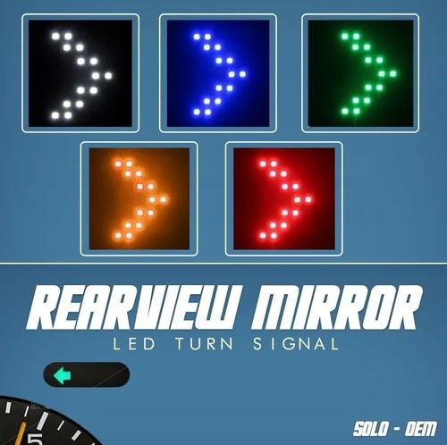 Luz Led Direccional Espejo Retrovisor Universal