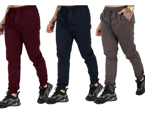Kit 3 Calça Jeans Masculina Jogger Vários Modelo Promoção
