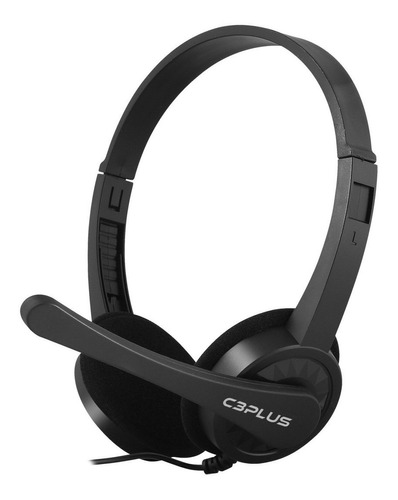 Fone De Ouvido Com Microfone Headset C3 Tech Voicer Confort