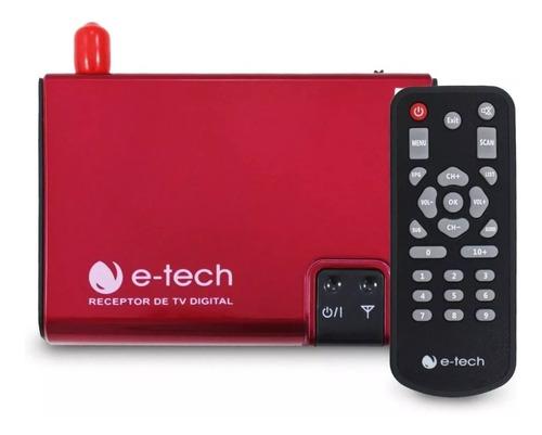 Antena Tv Digital Automotivo Receptor E tech Dvd Multímidia