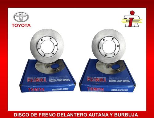 Disco De Freno Delantero Autana Burbuja Fzj80 6 Huecos