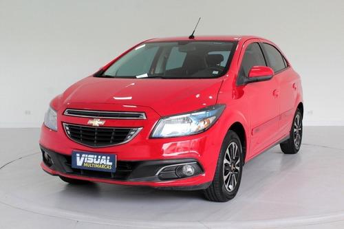 Chevrolet Onix 1.4 Ltz Flex 4p Automático 6m - 2014 - Verm