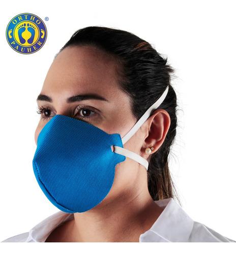 Máscara De Proteção Tripla Lavável Op95c19 - Kit 10 Uni