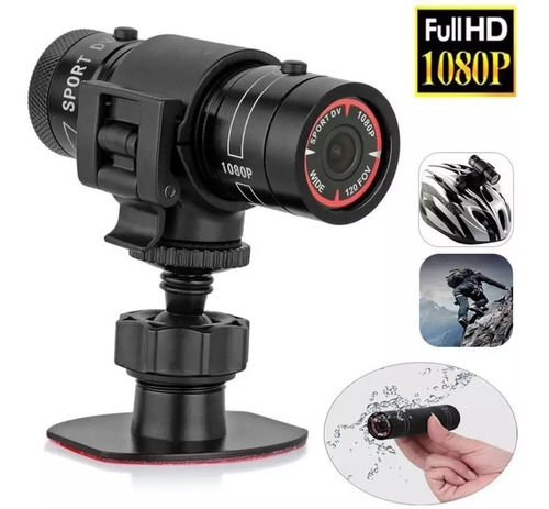 Action Cam Camera Para Moto Capacete Full Hd