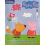 Livro Peppa Pig Revista De Atividades 120 Adesivos