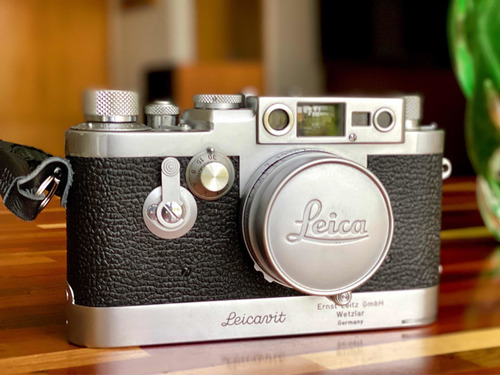 Leica Iiig Elmar 50mm 2.8 Leicavit Syoom