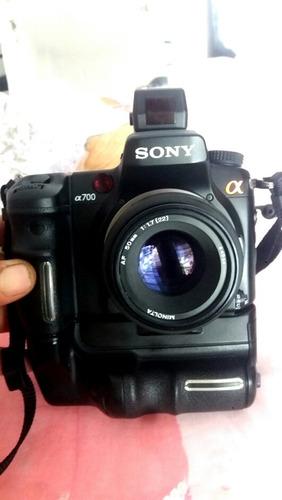 Corpo Sony A700 Com Battery Grip Cartao 2 Giga