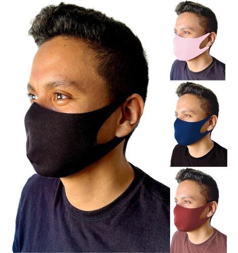 Kit 10 Mascaras Tecido Proteção Lavável Neoprene Envio Hoje!