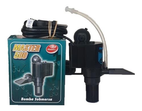 Bomba Submersa 500l/h Master Aquario Cascata Fonte 127v - 220v