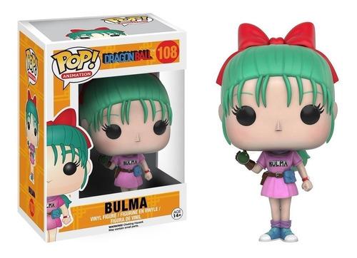 Figura Funko Pop Dragon Ball Bulma #108