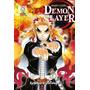 Mangá Demon Slayer Kimetsu No Yaiba Vol. 08 Lacrado Panini