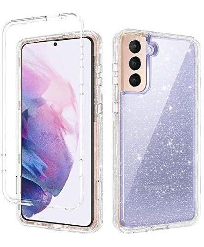 Bentoben Case Para Samsung Galaxy S21 3 En 1 Híbr