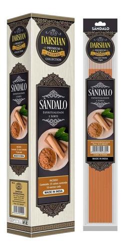 Incenso Massala Premium Sandalo Darshan 3sk D.10varetas Full