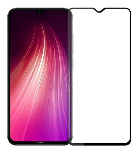 Combo Vidrio Templado Full Cover Cámara Xiaomi Redmi Note 8
