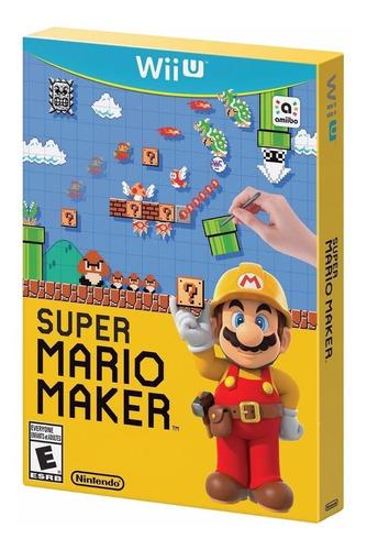 Mario  Super Mario Maker Nintendo Wii U Físico