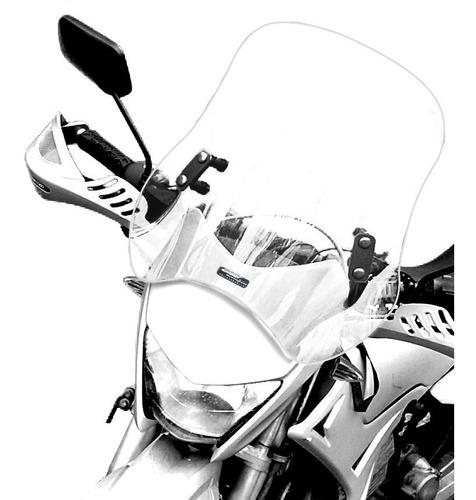 Bolha Universal Para Moto Em Policarbonato Cristal 4 Mm