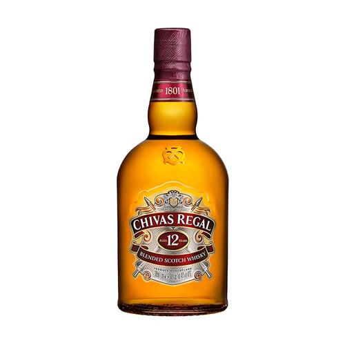 Whisky Chivas Regal 12 Años Escocia Botella 1 L