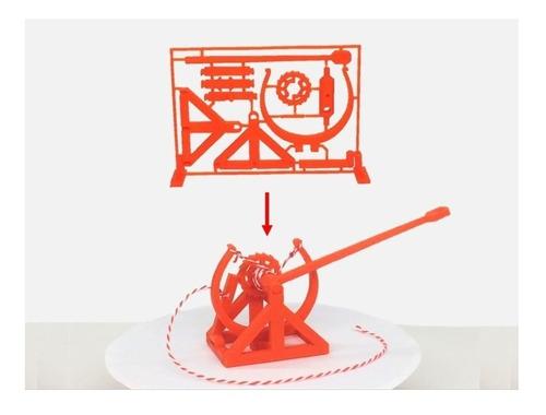Gift Card Armable Catapulta Tipo Da Vinci Mecanica3d