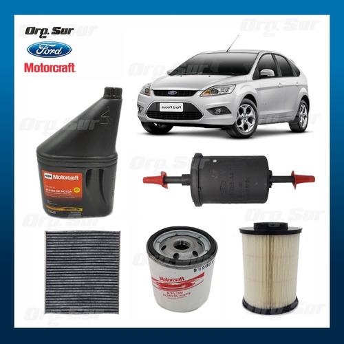 Kit Full Aceite Y Filtro Ford Focus 2009/2012 Nafta Original