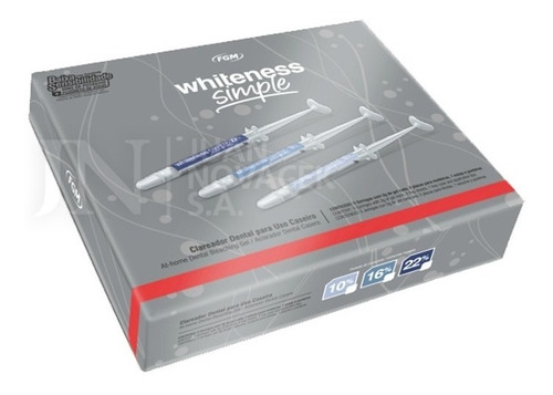 Blanqueador Dental Whiteness Simple 22% Fgm 5  Novacekdental