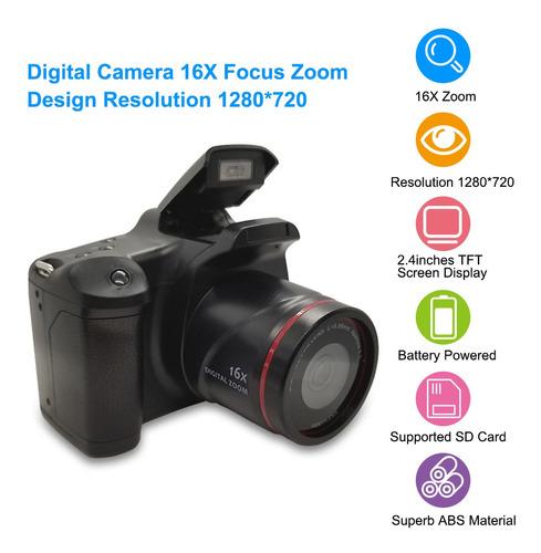 Câmera Digital 16x F-ocus Zoom Design Resolução 1280* 720