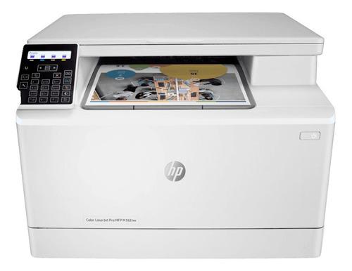 Impresora Color Hp Laserjet Pro M182nw Con Wifi  220v - 240v