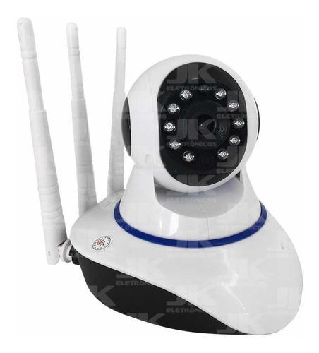 Baba Eletronica Camera Ip Wifi Sd Visao Noturna 3 Antenas