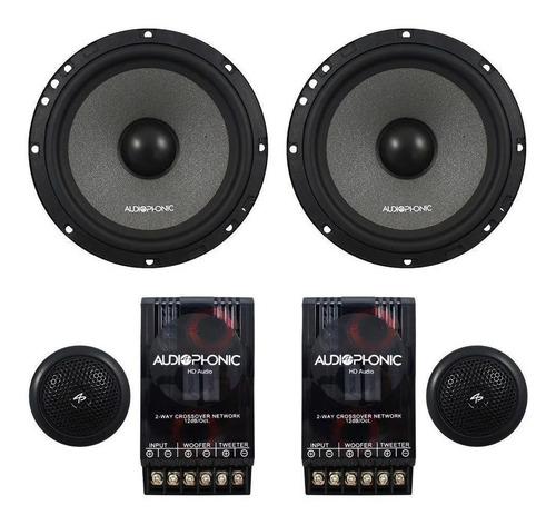 Kit Duas Vias Audiophonic Club K.c 6.3 (6 Pols - 160w Rms)